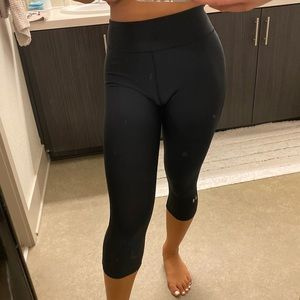 Under Armour Pants - UNDER ARMOUR BLACK COMPRESSION TIGHTS